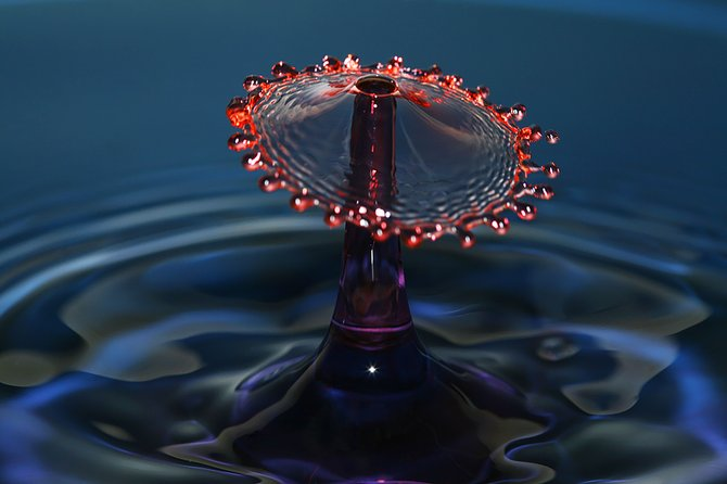 Liquid Drop Art…. Photographer Corrie White