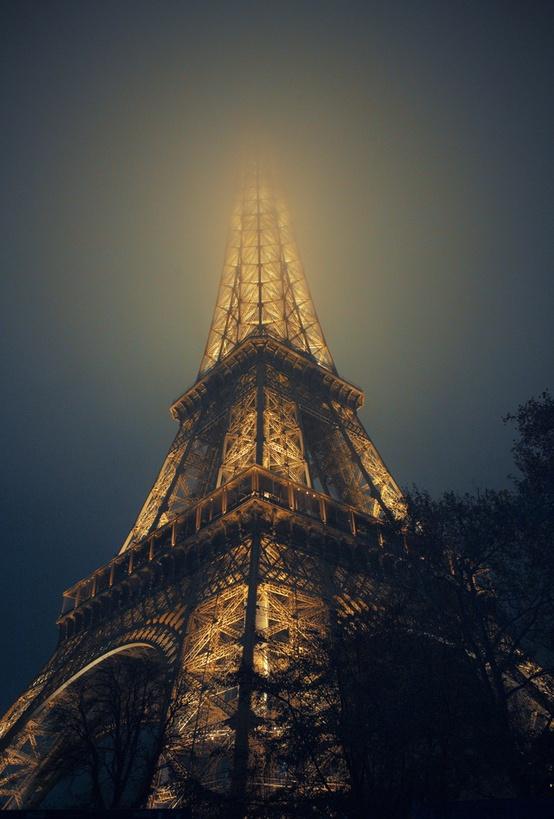 Eiffel Tower In Fog