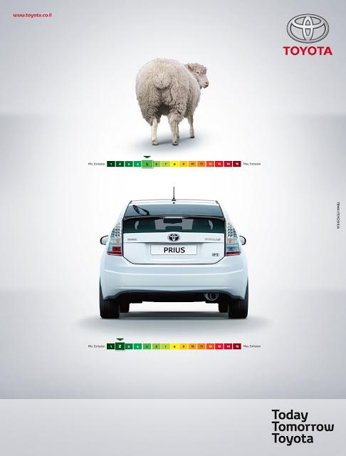 "Toyota ""Sheep Farts"" Ad"