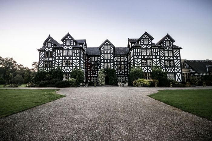 Gregynog, a Large Country House in Wales