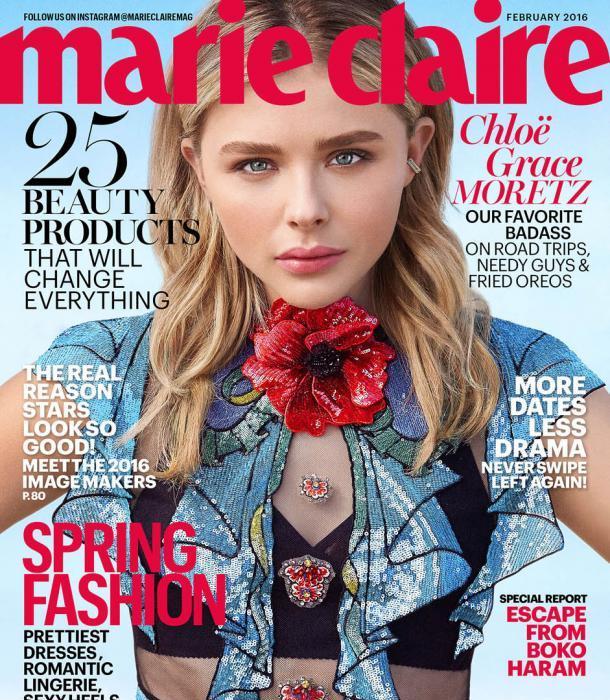 Chloe Grace Moretz Does Marie Claire Magazine!