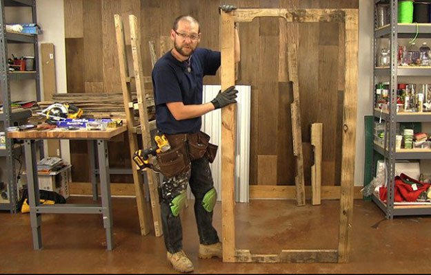 Door Frame | Build A Homemade Pallet Smoker