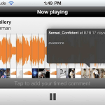 SoundCloud iPhoneアプリ