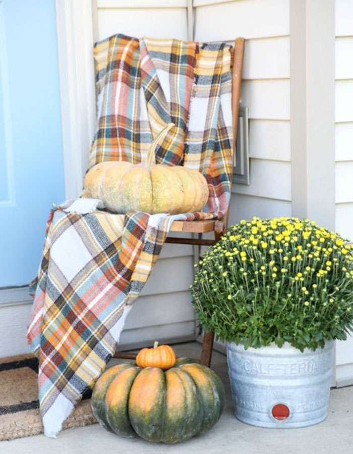 Cozy Up To These Chic Ways To Use Flannel At Home