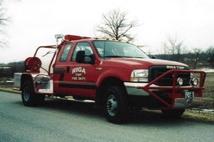 #13 Riga Twp. Fire Dept.