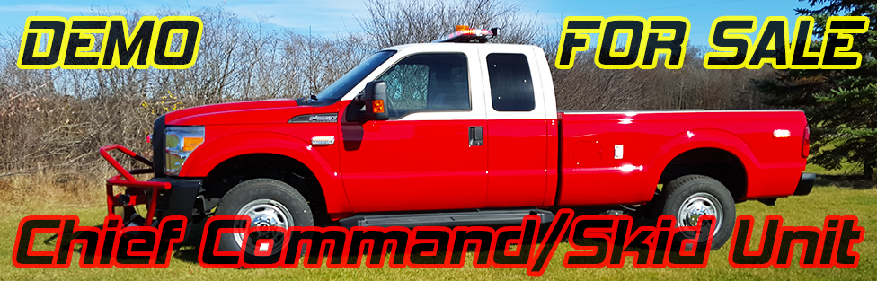 2015 Chief Command/ Skid Unit Demo- FOR SALE