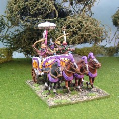 28mm ancient indian chariot