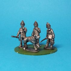 28mm policemen with hound