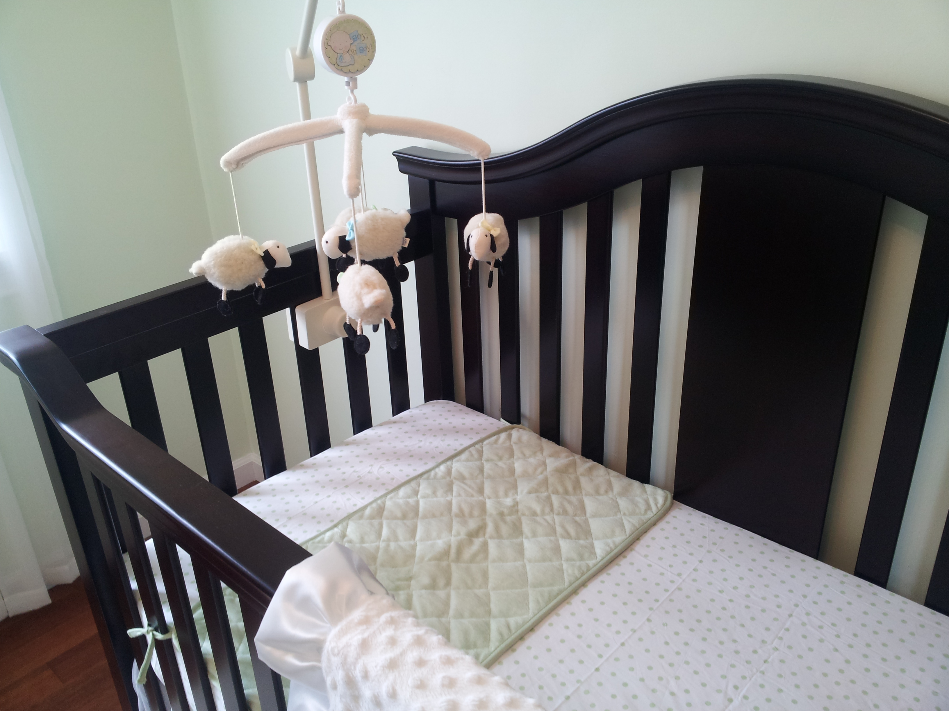 Cushty My Sister Purchased This Crib Mobile From Pottery Moore Mom Pottery Barn Crib Skirt Pottery Barn Crib Hardware baby Pottery Barn Crib