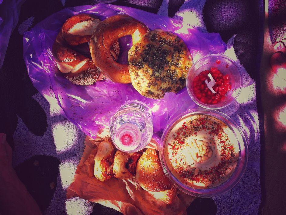 Tel Aviv Frühstück Carmel Markt