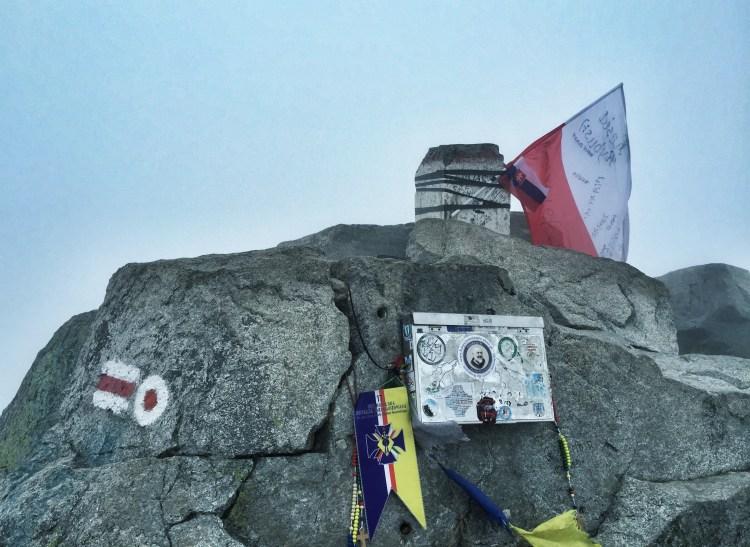 Hohe Tatra Rysy, Grenze Slowakei Polen