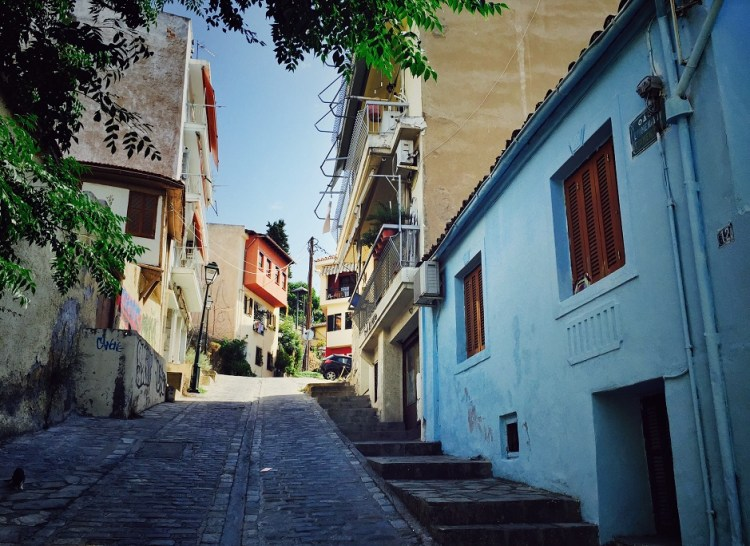 Thessaloniki Ano Poli Obere Stadt