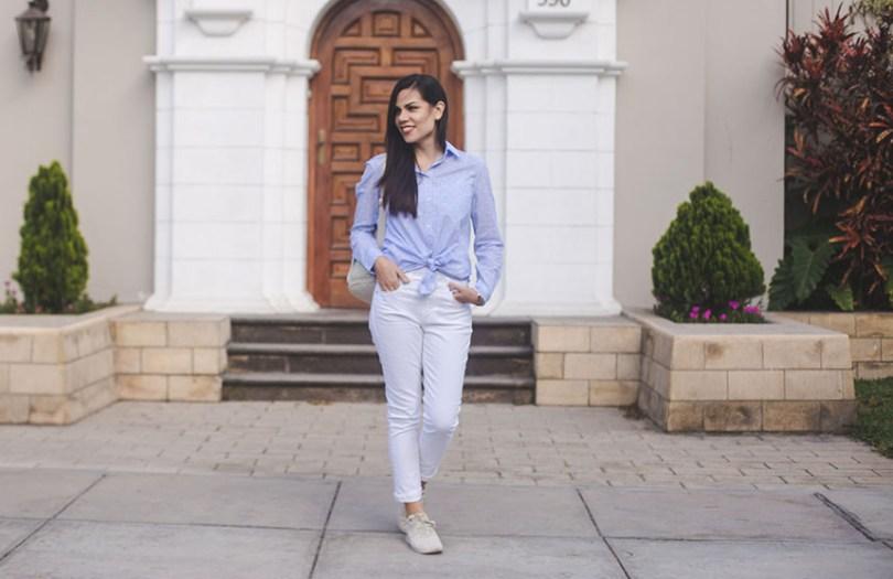 Camisa y pantalón de Gap, zapatillas Ugg
