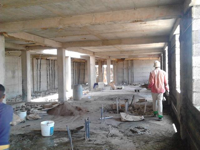 Interior construcción