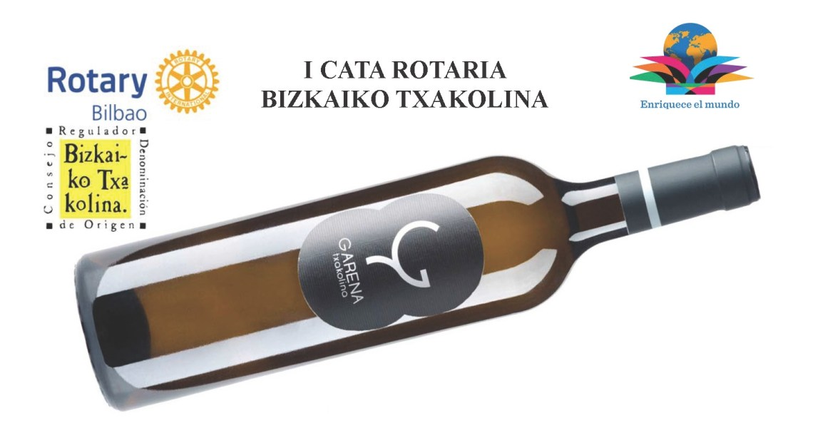 ganador I CATA ROTARIA BIZKAIKO TXAKOLINA