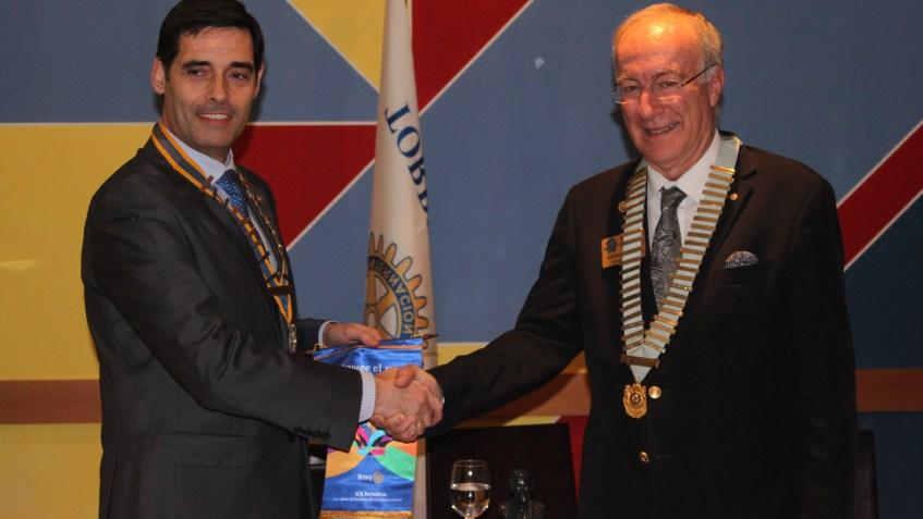 Club Rotario Torrelavega -Visita Gobernador 2015-2016 - Entrega Banderines - 22 feb. 2016.