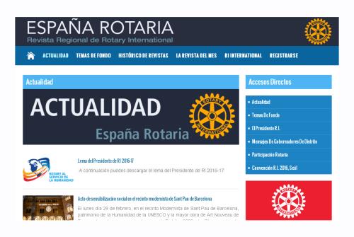 Web España Rotaria