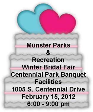 Winter Bridal Fair Centennial Park, Munster, Indiana