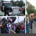 Day 3: Negative US Media Coverage Fails to Stop Constitutional Truckers and Veterans Moving on DC