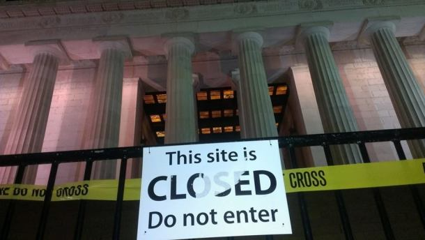 Lincoln Memorial_closed