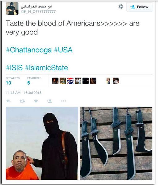 ISIS-Tweet