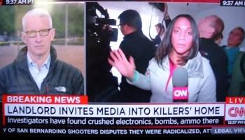 San Bernardino Media Hoax: CNN, Media, 'Victims Families' All Ransack Suspects Family Home, Faux FBI Crime Scene