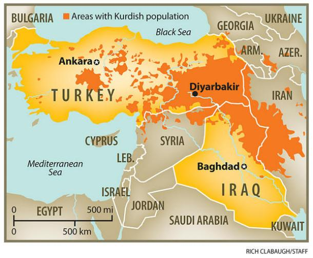 kurdish-population-map