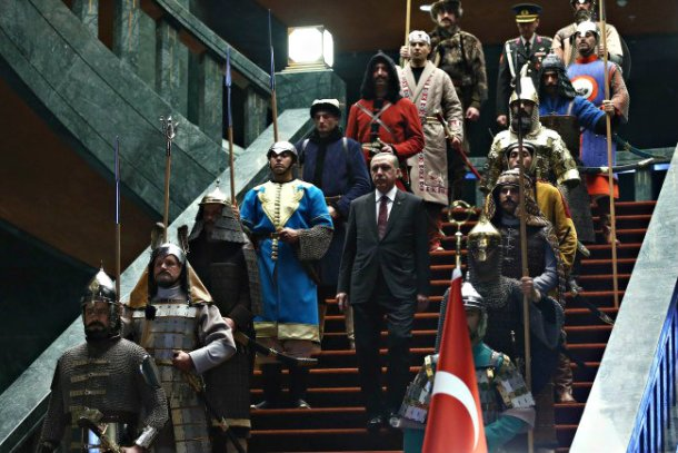 Erdogan stairs