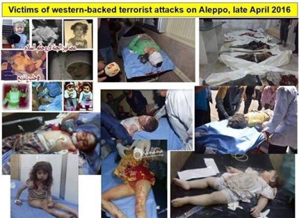Aleppo terror attacks