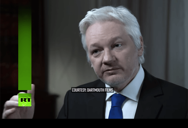 "Julian Assange - ""Everything that he has said, he's standing by."""