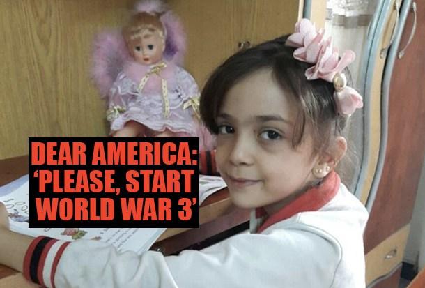 SYRIA: Child Exploitation: Who is 'Bana of Aleppo'?