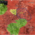 ALEPPO UPDATES: Battlefield Map of East Aleppo