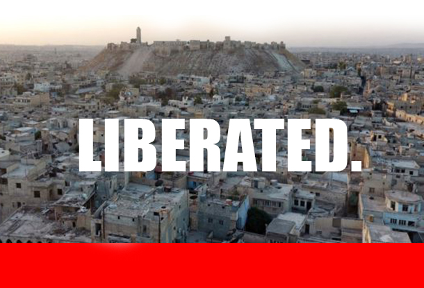 VICTORY: Aleppo's Old City Now Fully Liberated by Syrian Army, Remaining Terrorists in Retreat