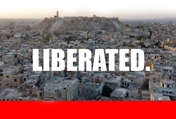 REVEALED: Aleppo's Old City Now Fully Liberated by Syrian Army, Remaining Terrorists in Retreat