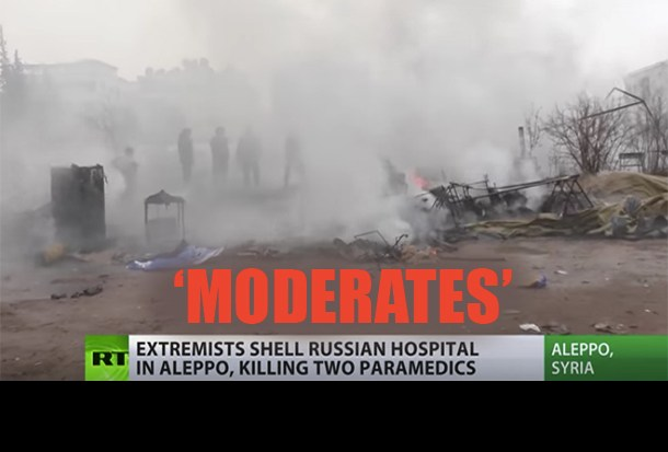 US-backed 'Moderate Rebels' Target Russian Humanitarian Field Hospital, Killing 2 Nurses and Injuring Others