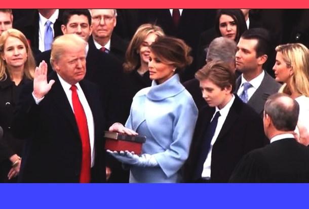 It's Official: Trump is POTUS 45