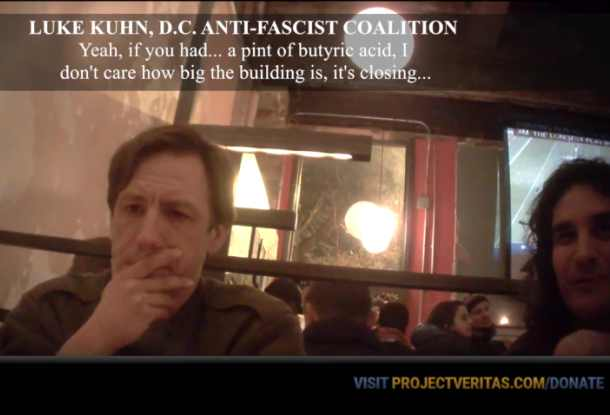 Extreme Left #DISRUPTJ20 Plot to 'Acid Bomb' Inauguration Deploraball