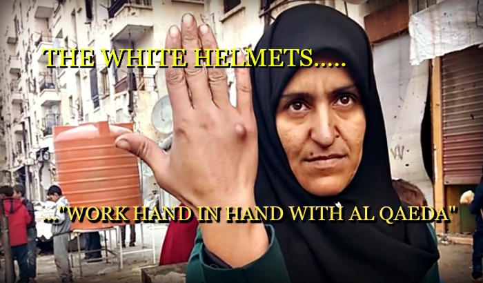 EXPOSED: Syria's White Helmets are Al Qaeda's 'Civil Defence'