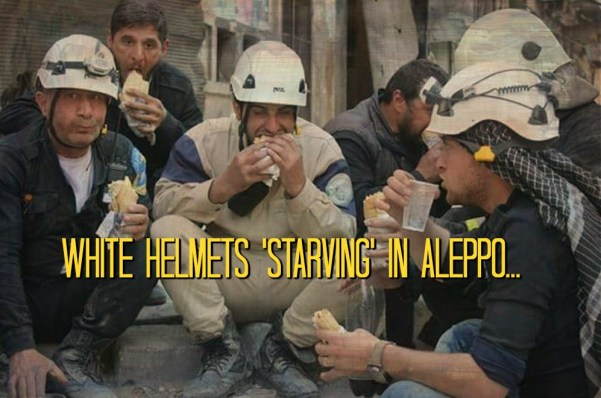WHITE HELMETS STARVING