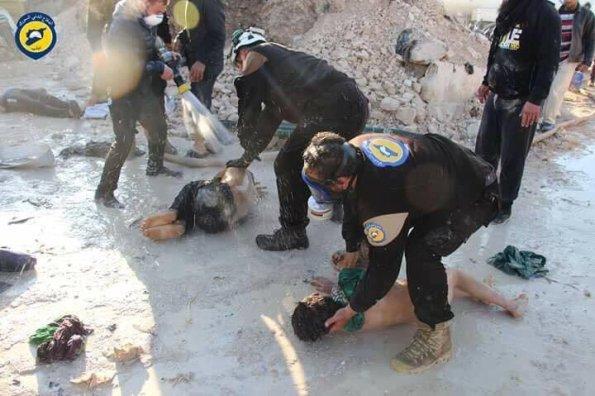 White Helmets chem idlib