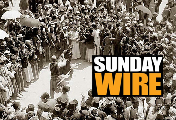 Episode #191 - SUNDAY WIRE: 'The Big Pinch' with Daniel Faraci, Emma, Basil Valentine