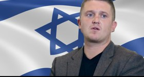 Tommy Robinson, Former EDL Leader Holds Secret Meeting with Manchester Jews