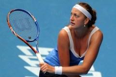 Cekja Petra Kvitova në finalen e turneut në Wuhan
