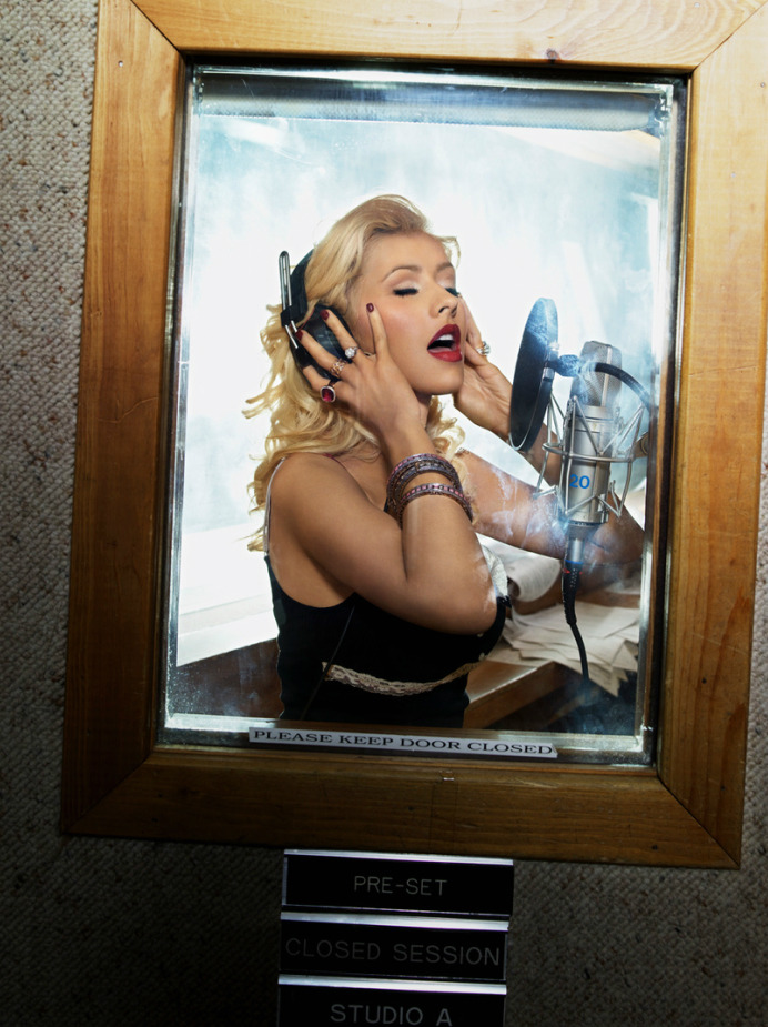 Christina Aguilera by Markus Klinko and Indrani