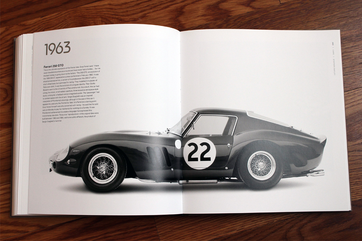 Cars: Freedom, Style, Sex, Power, Motion, Colour, Everything, by Stephen Bayley :: via Motoriginal