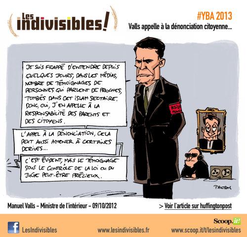 Valls appelle à la dénonciation citoyenne