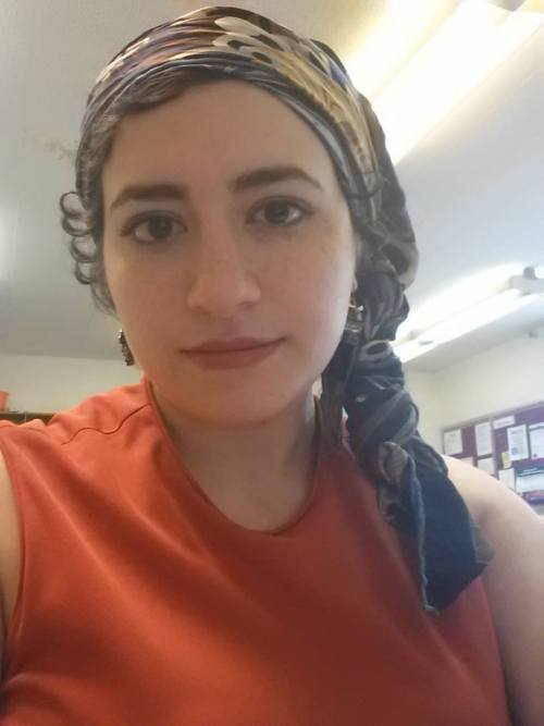 """All those scarves from the hijabi years come in handy not only as fashion accessories, but as parts of the recovery process. Marwa Berro from Between a Veil and a Dark Place writes:</p> <p>There is hardly a time in my memory when my body has not been shrouded in the loose, flowing clothing of the conservative form of hijab espoused by my culture. I started wearing it when I was a child of 8, and wore it for fifteen years. I've written about this before, but inherent in wearing the hijab in my family's from of Islam was a behavioral code of modest bodily interaction and conduct, even at home, that hypersexualized and shamed my body and at the same time suppressed and made my body invisible, all beyond the obscuring nature of the wide, loose clothing. I never learned to think of my body as perceivable, my own thing that I could love and take pride in, whose appearance and style I could control and create for myself; ever it was meant to be hidden away, unadorned, insignificant, unnoticeable, worthy only for the restricted use of others.<br /> And now, I'm consistently hyperaware of it…<br /> …Some days, I am incredibly self-conscious of my hair—so foreign in its curly, puffy unruliness but also thinning and torn-up from gods-know what combination of hair-pulling and bad water and genetics and binding under scarves. On those days I feel like I cannot stand to have it seen, and I tie it up in a scarf—the same scarves I used as hijabs for years—and carefully arrange the ripples and folds of it, and walk out of this house. And it is not my head, my hair, it is not me—it is a sad, broken creature who keeps playing at emulating the concerns of those who have always had the privilege of connecting to and choosing their bodily appearance, because she can neither manage her own comfortable style nor the """"normal"""" clothes (what my partner Jame ironically dubs """"white girl clothes"""") in this place where slim, hipster-y white bodies are normalized, where her curves are beacons of bo"""