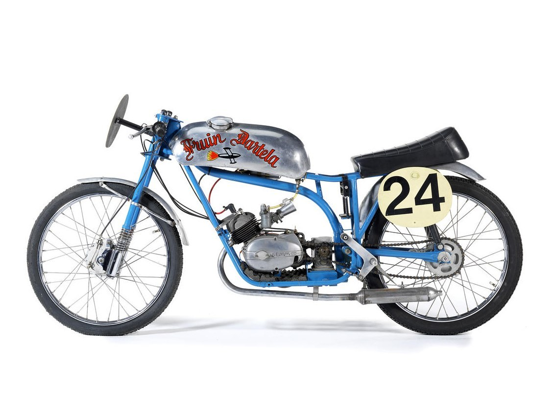 Isle of Man TT 1962 Fruin Dartela 50cc Six-Speed Racing Motorcycle