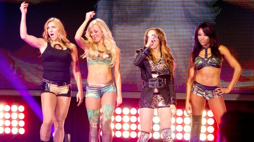 Charlotte,Summer Rae,Sasha Banks,Alicia Fox:NXT 2/5/14