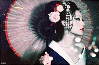 Sexo para parejas - apariencia de geisha